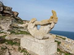 statue-of-man-cape-kaliakra
