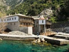 Gregoriou-monastery,-Mount-Athos,-Halkidiki
