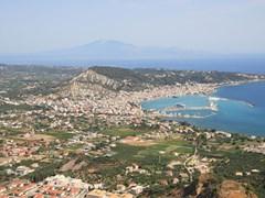 Вид с воздуха на Занте, Закинф Греция