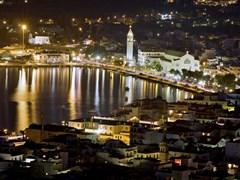 Закинф ночью Греция