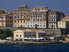 Старый город на острове Корфу