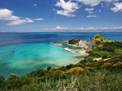 Мыс Драстис на острове Корфу, Греция