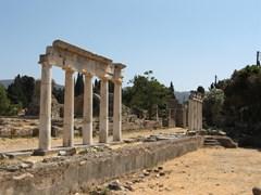 Древние руины на острове Кос, Греция
