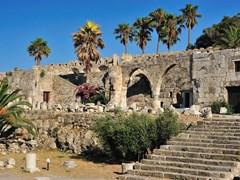 Крепость рыцарей ордена Святого Иоанна Родосского на острове Кос, Греция