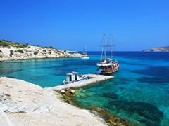 Причал для небольших лодок острова Кос