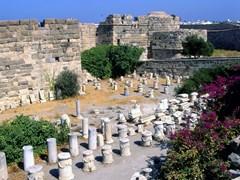 Замок рыцарей ордена Святого Иоанна. На острове Кос, Греция