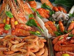 Морепродукты на острове Крит