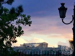 Акрополь на закате