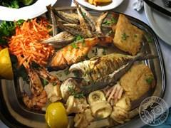 Морепродукты греческой кухни