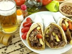 Гирос - греческий сэндвич