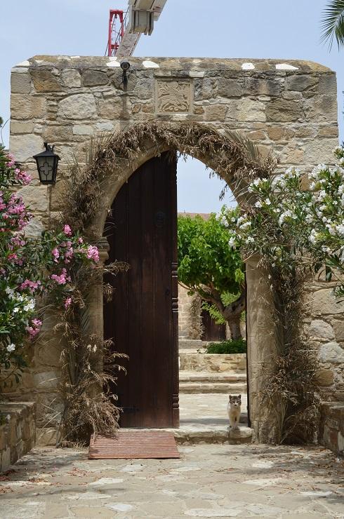 Кипр монастырь св георгия мавровуни