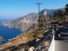 Карпатос с видом на побережье