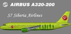 S7 A320-200