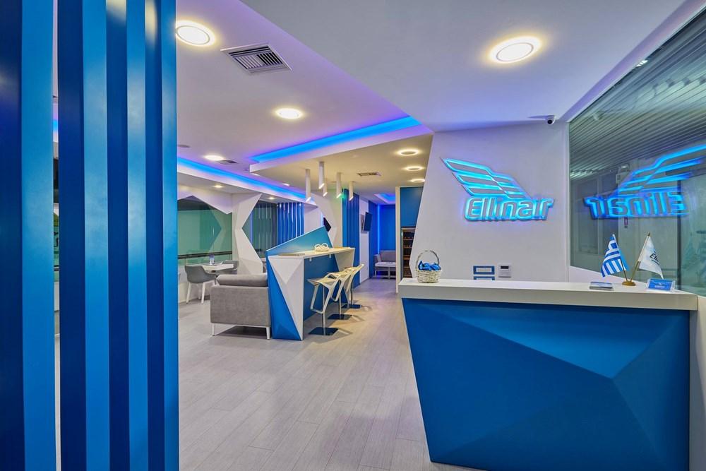 Насладитесь уникальными моментами релаксации в CIP Lounge Anemos авиакомпании Ellinair в аэропорту города Ираклион!