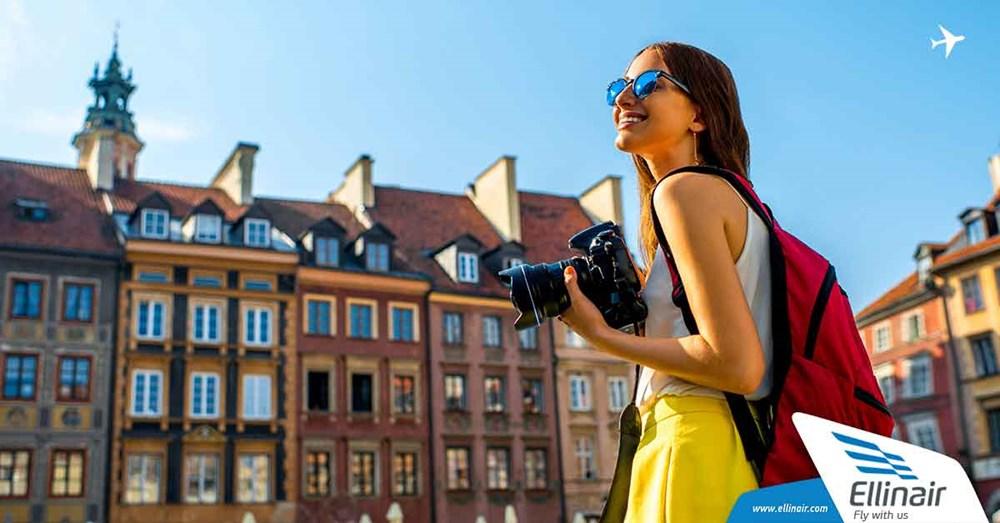 Варшава теперь ближе, чем когда-либо! Салоники – Варшава от 58,50 евро!