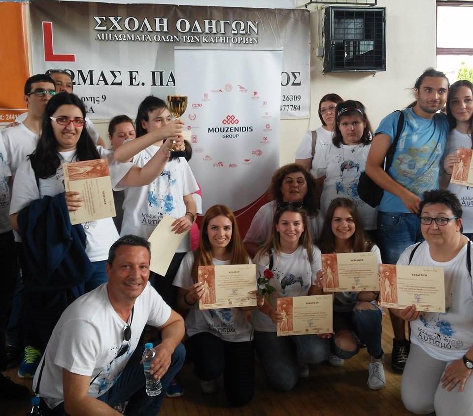 Авиакомпания Ellinair и холдинг Mouzenidis Group приняли участие в 3-ем Всегреческом танцевальном фестивале для инвалидов