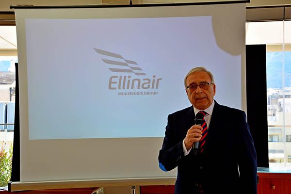 ΔΕΛΤΙΟ ΤΥΠΟΥ - Με επιτυχία στέφθηκε η Συνέντευξη Τύπου της Ellinair στην Αθήνα