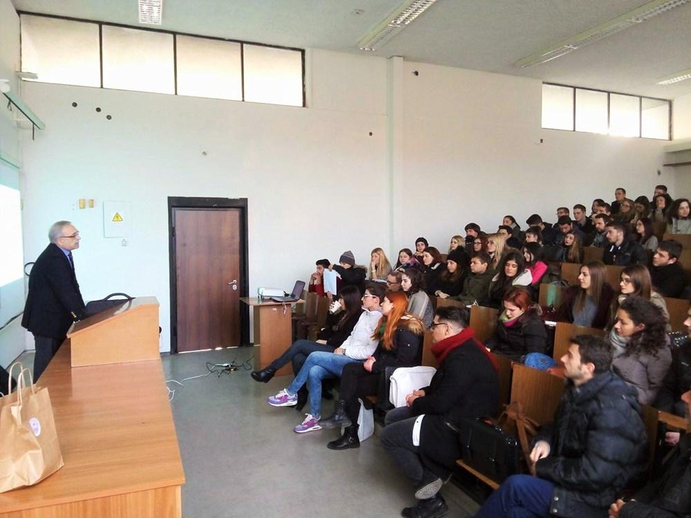 Компания Ellinair в Университете Аристотеля в Салониках!