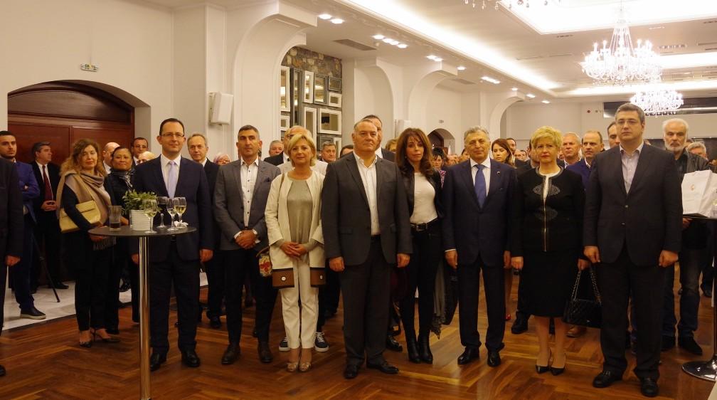 Εγκαίνια του επίτιμου Προξενείου της Λευκορωσίας