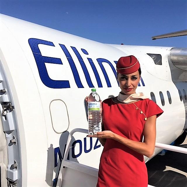 Το νερό Θεόνη «απογειώνεται» με την Ellinair!