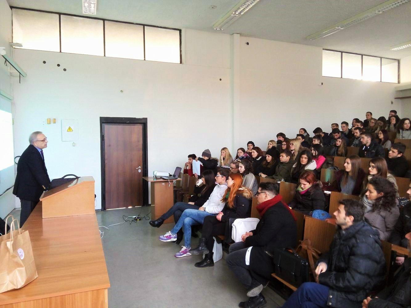 H Ellinair στο Αριστοτέλειο Πανεπιστήμιο Θεσσαλονίκης!