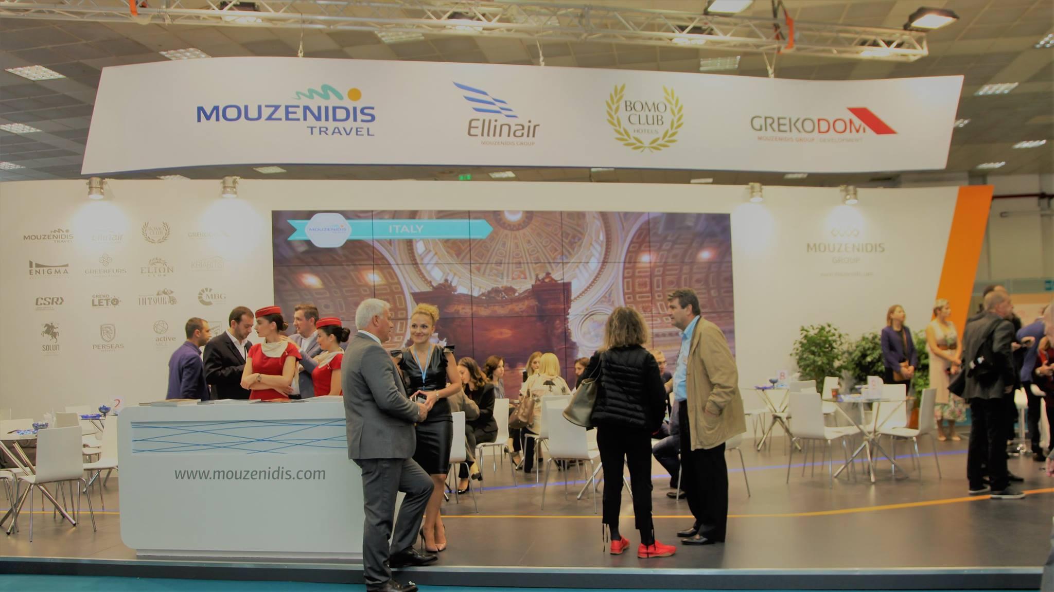 И в этом году авиакомпания Ellinair принимала участие в 33-ой Международной туристической ярмарке PHILOXENIA.