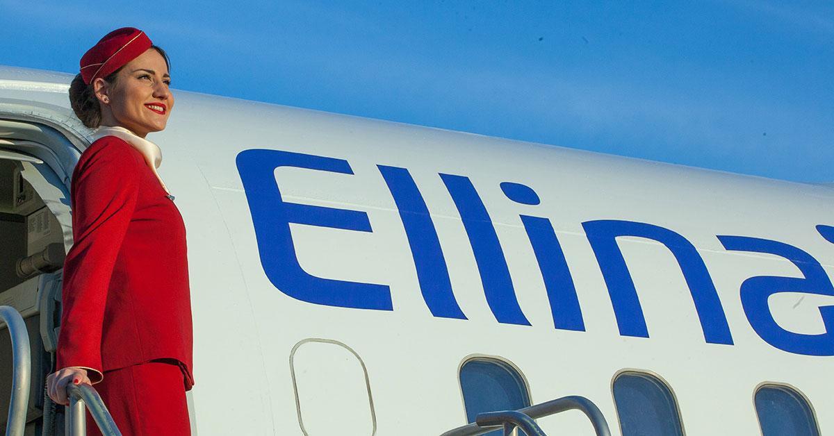 Job vacancies for Flight Attendants in Ellinair Airlines!