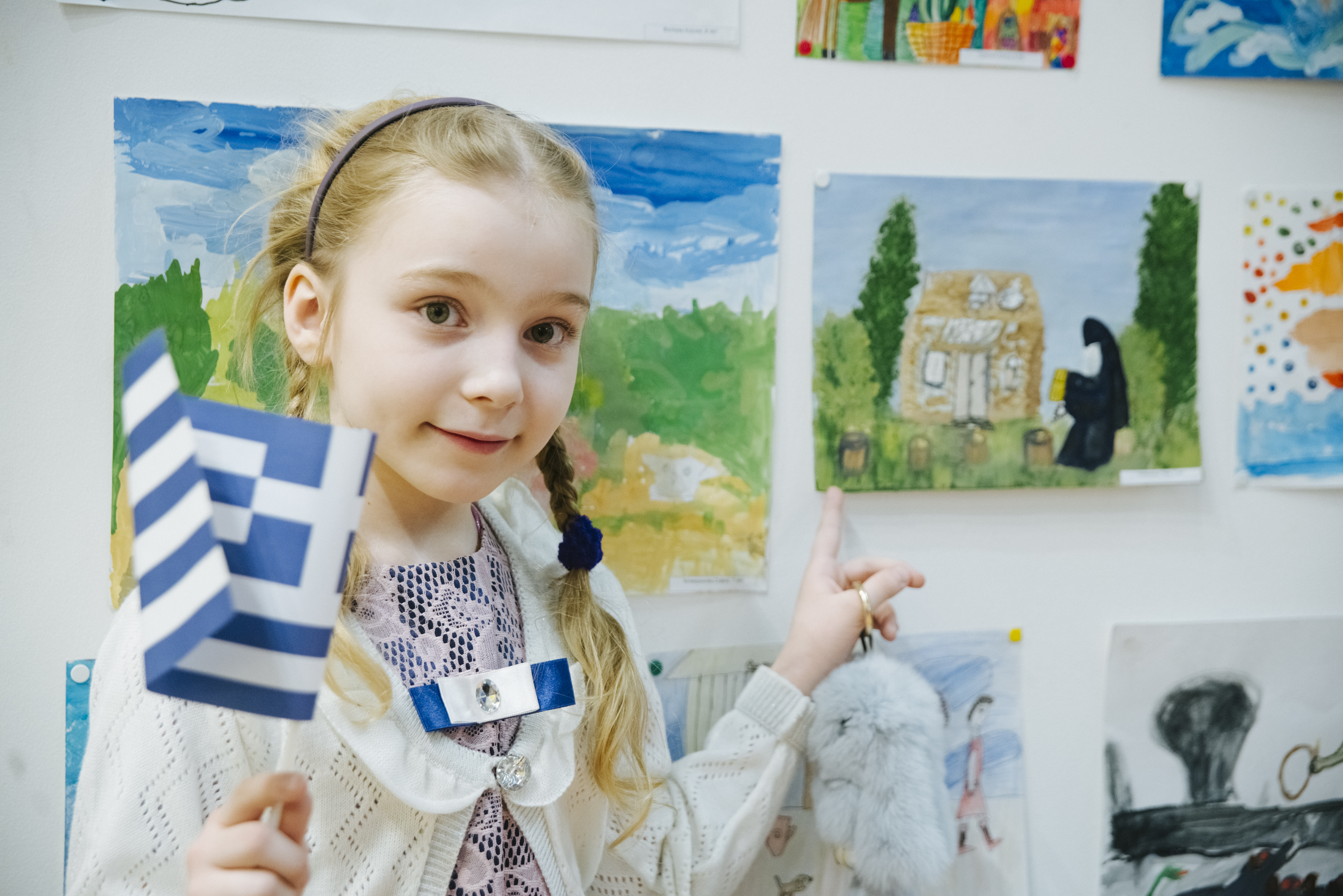 Children's Drawing Competition «Journey to Greece» on the «wings» of Ellinair!