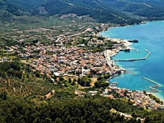 Land 360 m² on the island of Thassos