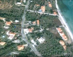 Land 300 m² on the island of Thassos