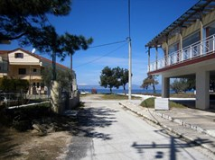Land on the island of Thassos