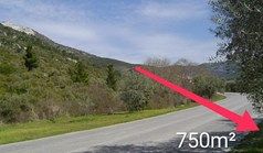 Land 650 m² on the island of Thassos
